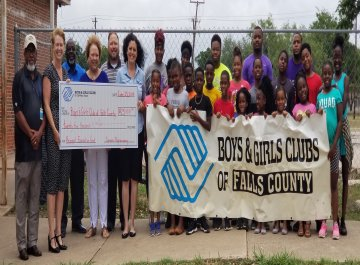 Boys & Girls Club of Fall County Announces $25,000 Investment from the Rapoport Foundation